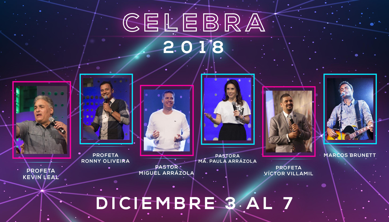 ¡Arranca Celebra 2018!